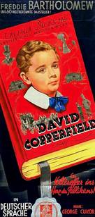 The Personal History, Adventures, Experience, & Observation of David Copperfield the Younger - German VHS cover (xs thumbnail)
