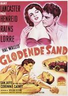 Rope of Sand - Danish Movie Poster (xs thumbnail)