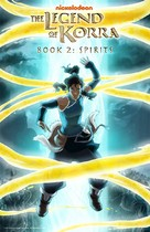 """The Legend of Korra"" - DVD cover (xs thumbnail)"