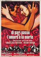 A Walk with Love and Death - Italian Movie Poster (xs thumbnail)