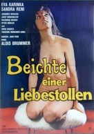Beichte einer Liebestollen - German Movie Poster (xs thumbnail)