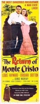 The Return of Monte Cristo - Movie Poster (xs thumbnail)