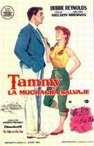 Tammy and the Bachelor - Spanish Movie Poster (xs thumbnail)