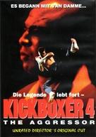 Kickboxer 4: The Aggressor - German DVD movie cover (xs thumbnail)