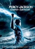 Percy Jackson & the Olympians: The Lightning Thief - Swedish Movie Poster (xs thumbnail)