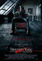 Sweeney Todd: The Demon Barber of Fleet Street - Greek Movie Poster (xs thumbnail)