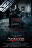Sweeney Todd: The Demon Barber of Fleet Street - Greek Movie Poster (xs thumbnail)