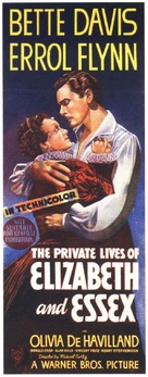 The Private Lives of Elizabeth and Essex - Australian Movie Poster (xs thumbnail)