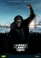 Rise of the Planet of the Apes - Czech Movie Poster (xs thumbnail)