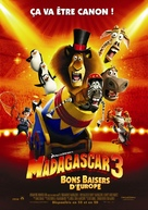 Madagascar 3: Europe's Most Wanted - French Movie Poster (xs thumbnail)