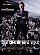 King of New York - French Movie Poster (xs thumbnail)