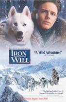 Iron Will - Video release movie poster (xs thumbnail)