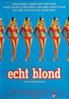 The Real Blonde - German Movie Poster (xs thumbnail)