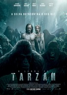 The Legend of Tarzan - Portuguese Movie Poster (xs thumbnail)
