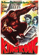 King Kong - Turkish Movie Poster (xs thumbnail)