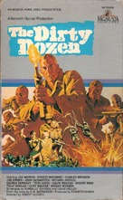 The Dirty Dozen - VHS cover (xs thumbnail)