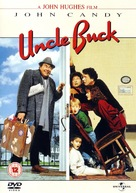 Uncle Buck - British DVD movie cover (xs thumbnail)