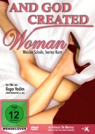 And God Created Woman - German DVD cover (xs thumbnail)