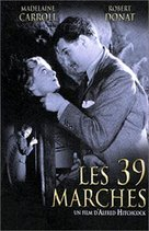 The 39 Steps - French DVD movie cover (xs thumbnail)