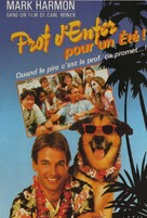 Summer School - French VHS movie cover (xs thumbnail)