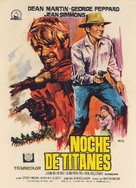 Rough Night in Jericho - Spanish Movie Poster (xs thumbnail)