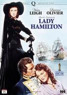 That Hamilton Woman - Norwegian DVD movie cover (xs thumbnail)
