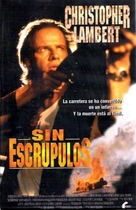 The Road Killers - Spanish VHS movie cover (xs thumbnail)