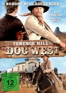 Doc West - German DVD cover (xs thumbnail)
