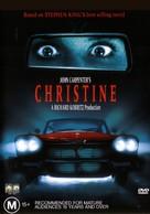 Christine - Australian DVD cover (xs thumbnail)
