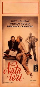 Born Yesterday - Italian Movie Poster (xs thumbnail)
