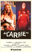 Carrie - VHS cover (xs thumbnail)