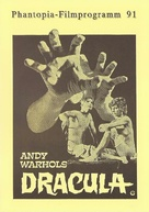 Blood for Dracula - German poster (xs thumbnail)