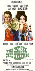 Histoires extraordinaires - Italian Movie Poster (xs thumbnail)