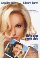 Life Or Something Like It - Spanish Movie Poster (xs thumbnail)