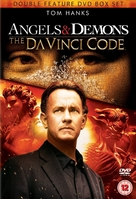 The Da Vinci Code - British DVD movie cover (xs thumbnail)