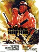The Last Safari - French Movie Poster (xs thumbnail)