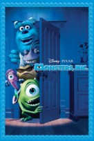 Monsters Inc - DVD movie cover (xs thumbnail)