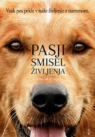 A Dog's Purpose - Slovenian Movie Poster (xs thumbnail)