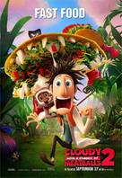 Cloudy with a Chance of Meatballs 2 - Movie Poster (xs thumbnail)