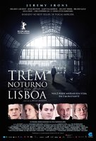 Night Train to Lisbon - Brazilian Movie Poster (xs thumbnail)
