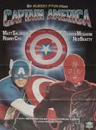 Captain America - Turkish DVD movie cover (xs thumbnail)