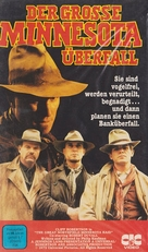 The Great Northfield Minnesota Raid - German VHS cover (xs thumbnail)