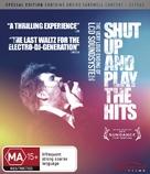 Shut Up and Play the Hits - Australian Blu-Ray cover (xs thumbnail)