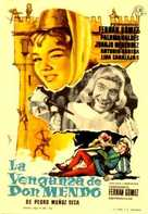 Venganza de Don Mendo, La - Spanish Movie Poster (xs thumbnail)