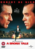 A Bronx Tale - British DVD movie cover (xs thumbnail)