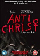 Antichrist - British DVD movie cover (xs thumbnail)