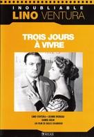Trois jours à vivre - French Movie Cover (xs thumbnail)