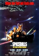 Spaceballs - German Movie Poster (xs thumbnail)