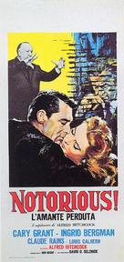 Notorious - Italian Movie Poster (xs thumbnail)