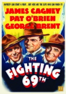 The Fighting 69th - Danish Movie Cover (xs thumbnail)